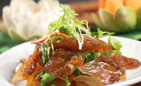 台湾人减肥食谱:海蜇皮+黄瓜丝