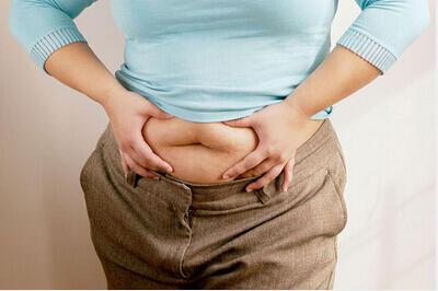 腰围长短影响寿命:腰围越长,寿命越短