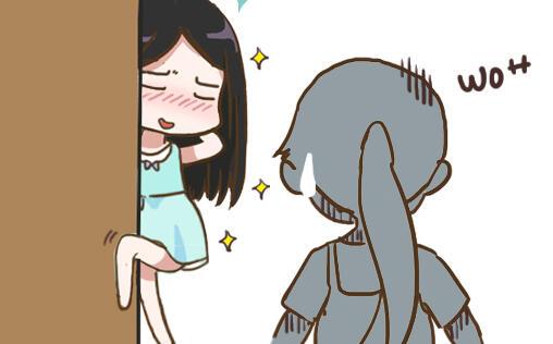 【漫画】假自嘲什么的最讨厌啦,明明瘦得像闪电