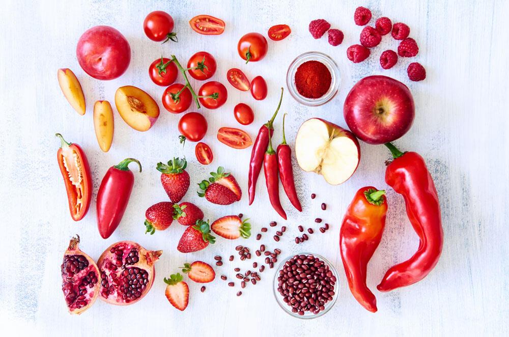 冬季防感冒 给孩子多吃红色果蔬
