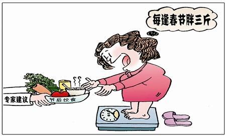 """过年不止""""胖三斤"""",科学减肥"""