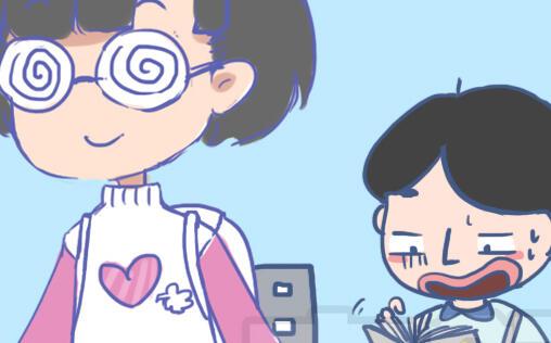 【漫画】学霸与学渣有什么区别?答案:没区别