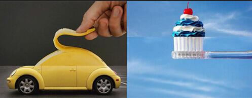 香蕉汽车、灯泡鸡蛋……外国人脑洞太大