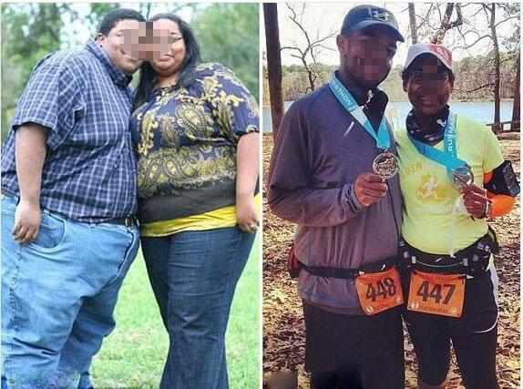 为爱减掉500磅 美夫妻创造传奇
