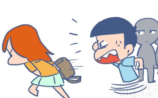 【漫畫】女子遇到危險應該如何自救