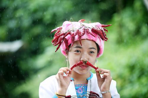 重庆美女多是吃辣椒吃出来的吗?吃辣椒美容吗