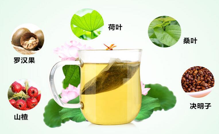 喝茶减肥:亦舒堂荷叶茶成分有什么作用