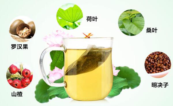山楂荷叶茶做法:这么喝,瘦得很靠谱