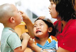 为何刚刚上幼儿园的宝宝容易生病?原因在这