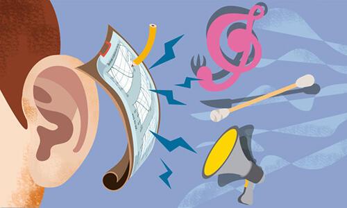 喜欢戴耳机听歌的注意了,这样做会损伤听力