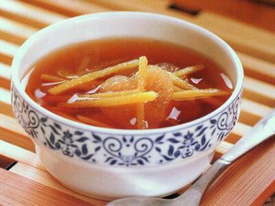 冬季驱寒健胃,喝碗姜糖紫苏叶汤